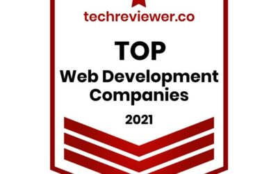 Vnited recognized by Techreviewer as a Top Web Development Company in 2021